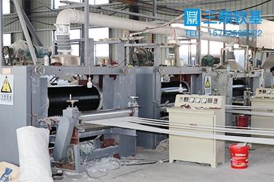 塑料排水板机械生产线